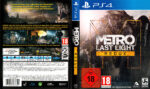 Metro Last Light Redux (2013) V2 PS4 German Cover