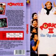 Porky's II – Der Tag danach (1983) R2 German Cover