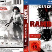 Rambo Trilogie Collection (1982-1988) R2 Blu-Ray German Cover