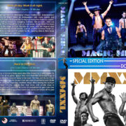 Magic Mike Double Feature (2012-2015) R1 Custom Cover