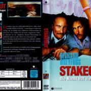 Stakeout: Die Nacht hat viele Augen (1987) R2 German Cover