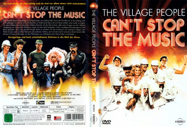 Can't Stop the Music (1980) R2 German Cover
