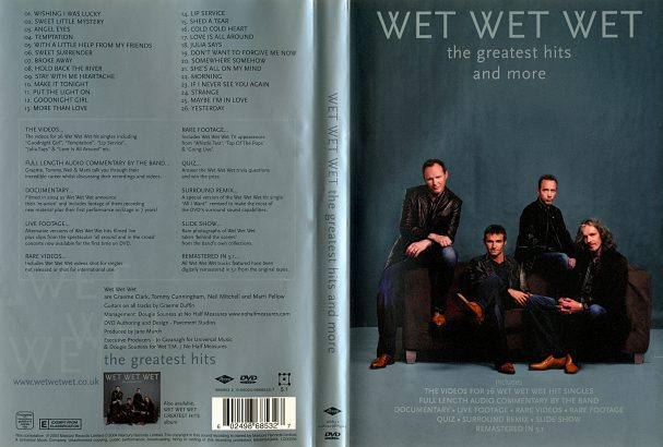 Wet Wet Wet - The Greatest Hits and more (2004) Cover