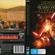 Star Wars: The Force Awakens (2016) R4 Cover & Label
