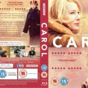Carol (2015) R2 Blu-Ray Cover