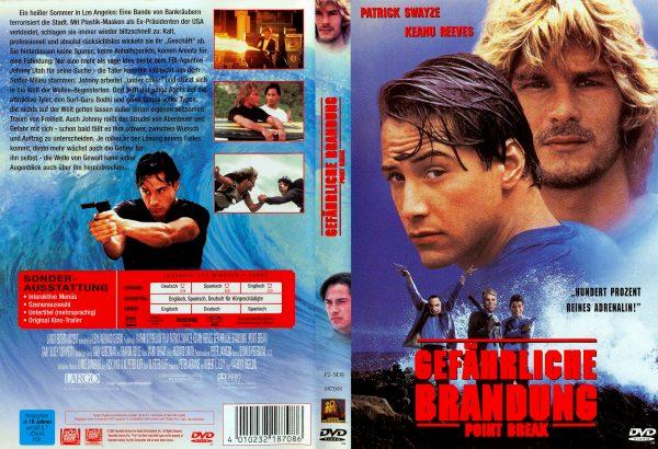 Gefährliche Brandung (1991) R2 German Cover