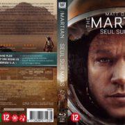 The Martian (2015) R2 Blu-Ray Cover Dutch