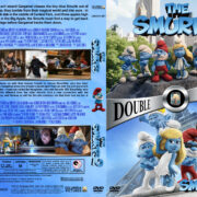 Smurfs / Smurfs 2 Double Feature (2011-2013) R1 Custom Cover