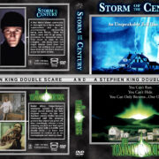 Storm of the Century / The Tommyknockers Double Feature (1993-1999) R1 Custom Cover