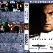 Under Siege Double Feature (1992-1995) R1 Custom Cover