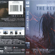 The Revenant (2015) R1 Blu-Ray Cover & label