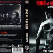Sons of Anarchy – Season 7 (2015) R2 German Blu-Ray Cover