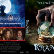 Krampus (2015) R2 German Custom Blu-Ray Cover & label