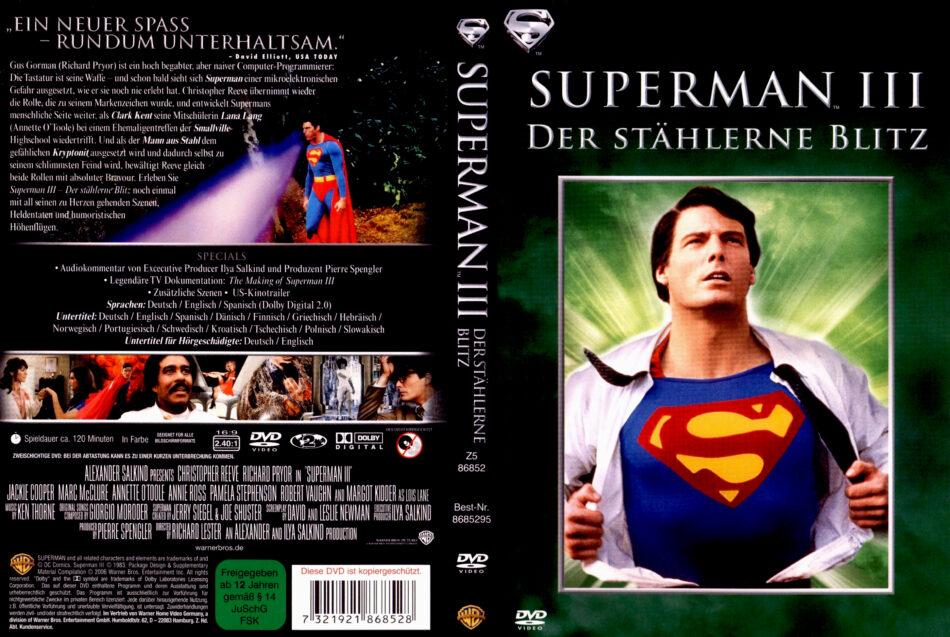 Superman 3 Der Stählerne Blitz