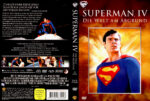 Superman IV – Die Welt am Abgrund (1987) R2 German DVD Cover