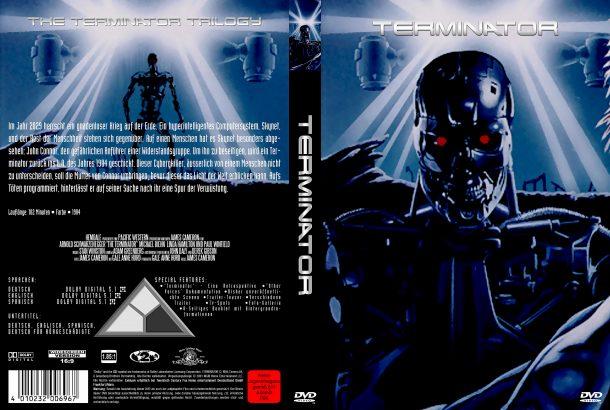 Terminator (1984) R2 German Covers