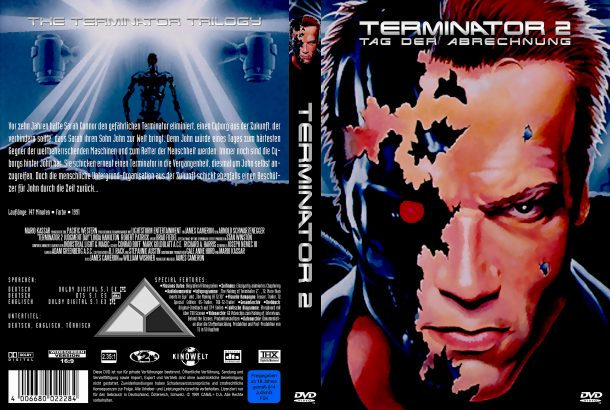 Terminator 2 - Tag der Abrechnung (1991) R2 German Covers