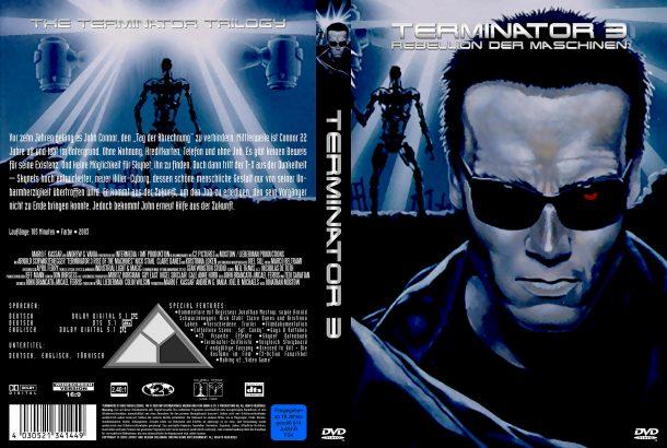 Terminator 3 - Rebellion der Maschinen (2003) R2 German Covers