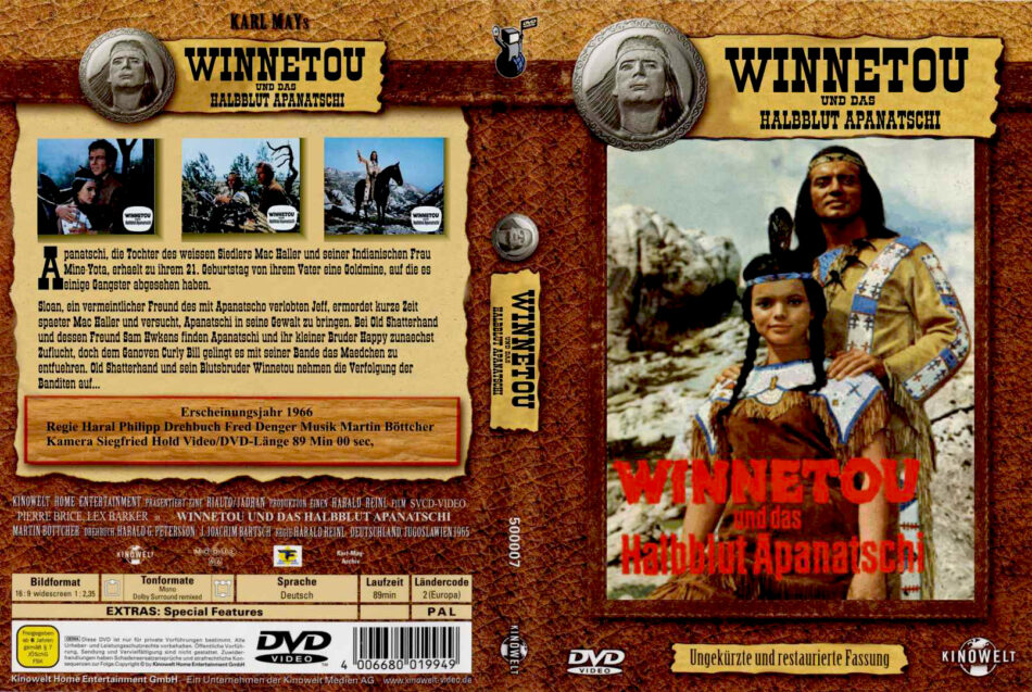 Winnetou Dvd