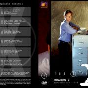 Akte X – Die unheimlichen Fälle des FBI Season 2 (1995) R2 German Cover