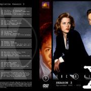 Akte X - Die unheimlichen Fälle des FBI Season 3 (1996) R2 German Cover