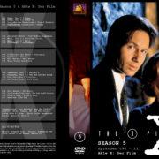 Akte X – Die unheimlichen Fälle des FBI Season 5 (1998) R2 German Cover