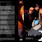 Akte X - Die unheimlichen Fälle des FBI Season 6 (1999) R2 German Cover