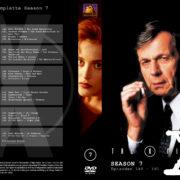 Akte X - Die unheimlichen Fälle des FBI Season 7 (2000) R2 German Cover