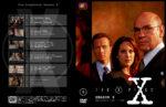 Akte X – Die unheimlichen Fälle des FBI Season 8 (2001) R2 German Cover