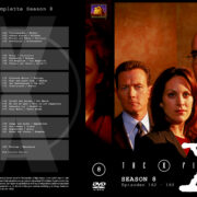 Akte X - Die unheimlichen Fälle des FBI Season 8 (2001) R2 German Cover