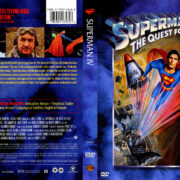 Superman 4: The Quest for Peace (1987) R1 Covers