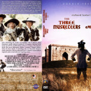 The Three Musketeers / The Four Musketeers Double Feature (1973-1974) R1 Custom DVD Cover