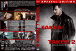 Taken / Taken 2 Double Feature (2008-2012) R1 Custom Cover