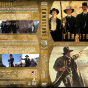 Tombstone / Wyatt Earp Double Feature (1993-1994) R1 Custom Cover