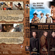 True Grit Double Feature (1969-2010) R1 Custom Cover