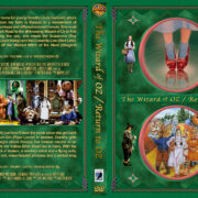 The Wizard of Oz Double Feature (1939-1985) R1 Custom Cover