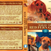 Where the Red Fern Grows Double Feature (1974-1992) R1 Custom Cover