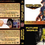 Westworld / Futureworld Double Feature (1973-1976) R1 Custom Cover