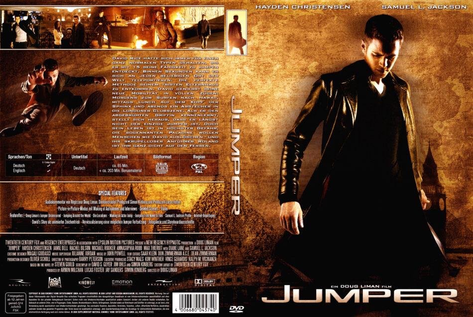 Jumper Dvd Covers 2008 R2 German