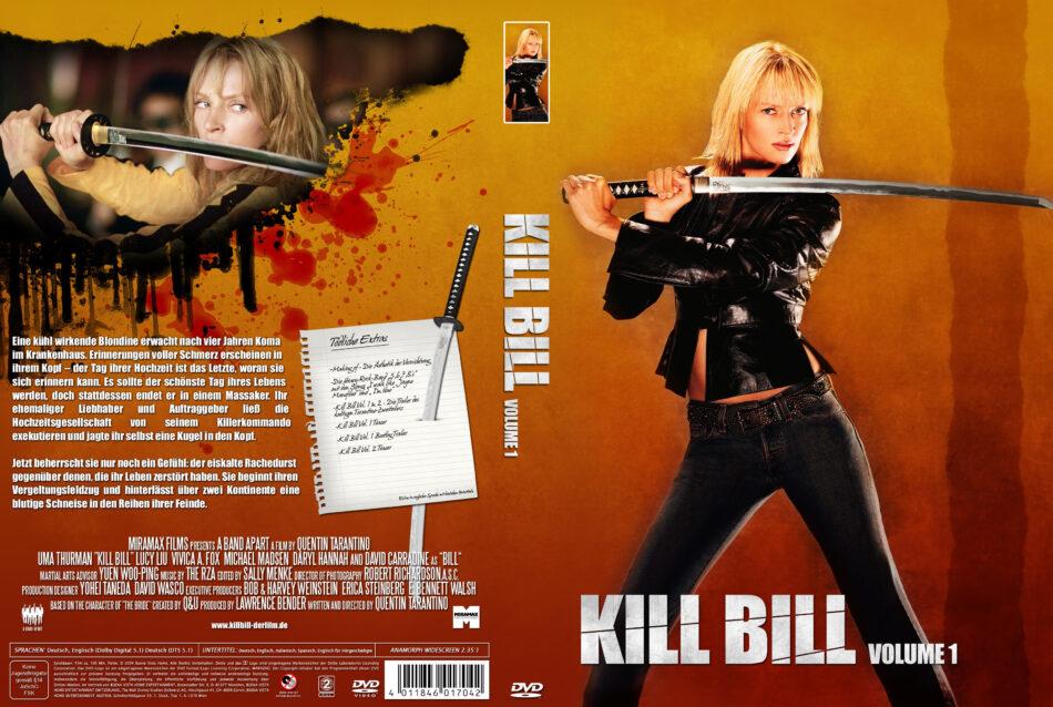 Kill Bill Vol 1 Dvd Covers 2003 R2 German