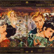 Krieg und Frieden (1956) R2 German Cover