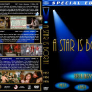 A Star is Born Trilogy (1937-1976) R1 Custom Cover