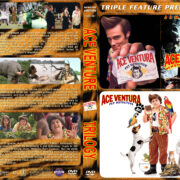 Ace Ventura Triple Feature (1994-2008) R1 Custom Cover