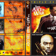 The Art of War Triple Feature (2000-2009) R1 Custom Cover