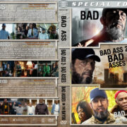 Bad-Ass Triple Feature (2012-2015) R1 Custom Cover
