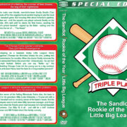 The Sandlot / Rookie of the Year / Little Big League Triple (1993-1994) R1 Custom Cover