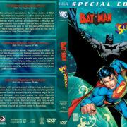 Batman / Superman Triple Feature (1998-2010) R1 Custom Cover