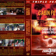 Cabin Fever Triple Feature (2002-2014) R1 Custom Cover