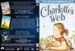 Charlotte's Web Triple Feature (1973-2006) R1 Custom Cover