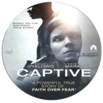 Captive (2015) R0 Custom Disc Label